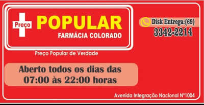 Farmacia Popular Cerejeiras RO